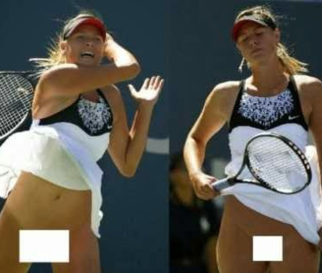 Seems The Tennis Superstar Likes To Be Free When Busy Playing Tennis Strong Wind Blew Up Her Skirt In One Of The Recent Grand Slams And Before She Could